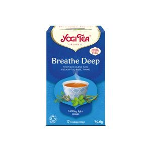 Yogi Breathe Deep Organic Tea 17 Bags