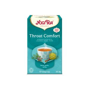 Yogi Throat Comfort Organic Tea 17 Bags