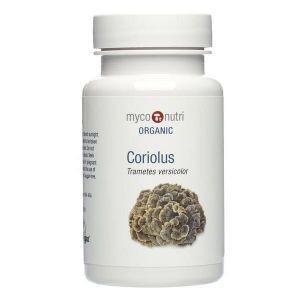Myco-Nutri Organic Coriolus Mushroom Supplement 500mg 60 Capsules
