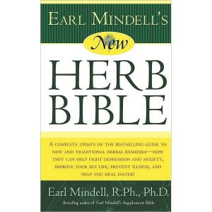 The New Herb Bible Book By Earl Mindell