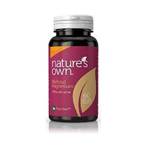 Natures Own Magnesium 100mg 60 Vegetarian Tablets