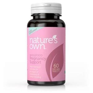 Natures Own  Pregnancy Support 60 Vegan Tablets