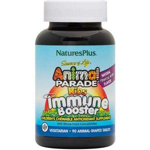 Natures Plus Animal Parade Kids Immune Booster 90 Tablets
