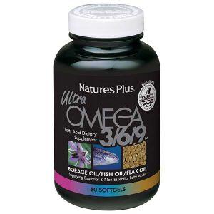 Natures Plus Ultra Omega 3/6/9 90 Softgels