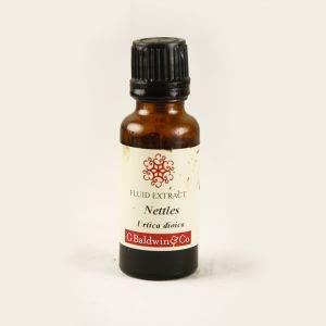 Baldwins Nettle ( Urtica dioica ) Herbal Fluid Extract