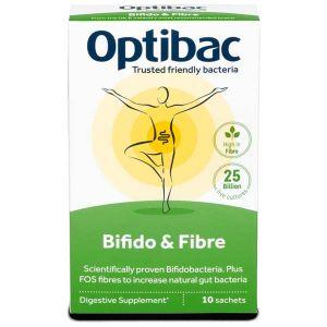 Optibac Probiotics Bifidobacteria & Fibre 10 Sachet
