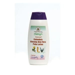 House Of Mistry Potenised Calendula Ginseng Aloe Vera Paba Lotion 200ml