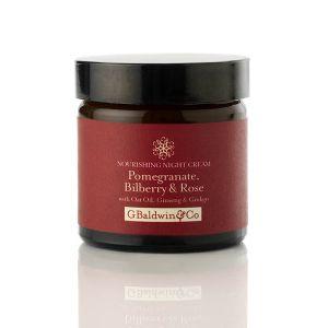 Pomegranate, Bilberry & Rose Nourishing Night Cream 60ml