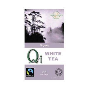 Qi Organic White Tea 25 Tea Bags