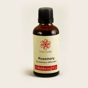 Baldwins Rosemary ( Rosmarinus Officinalis ) Herbal Tincture