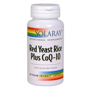 Solaray Red Yeast Rice + Coq10 60vegecaps