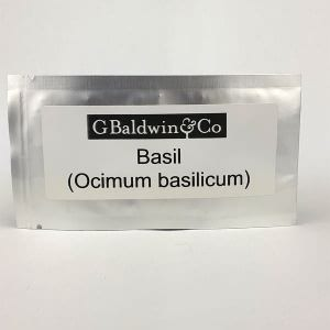 John Chambers Basil ( Ocimum basilicum ) Seeds Packet 5g