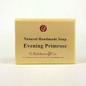 Baldwins Luxury Handmade Evening Primrose Soap 100g