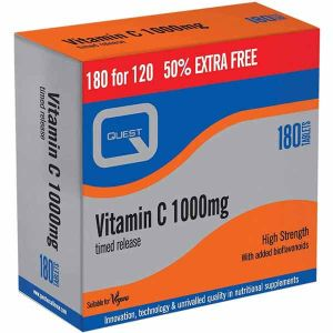 Quest Vitamin C 1000mg Timed Release 180 Tablets