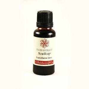 Baldwins Scullcap  ( Scutellaria Lateriflora ) Herbal Fluid Extract