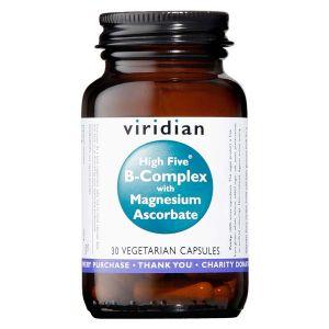 Viridian High Five B Complex With Magnesium Ascorbate