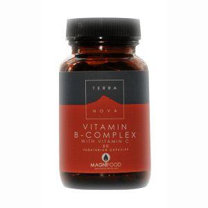 Terranova B Complex With Vitamin C 50 Vegetarian Capsules