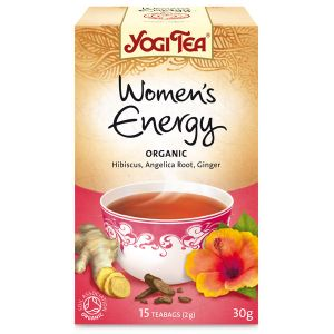 Yogi Women's Energy Organic Tea 17 Bags