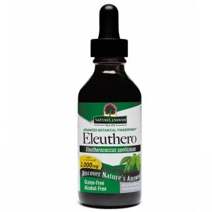 Natures Answer Eleuthero (siberian Ginseng) Alcohol Free Fluid Extract 60ml