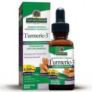 Natures Answer Turmeric 3 Alcohol Free Extract 30ml