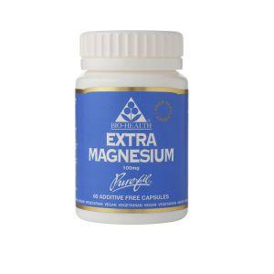 Bio-health Extra Magnesium  60 Capsules