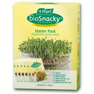 Biosnacky Starter Pack 6 X 40g Assorted Sprouting Seeds