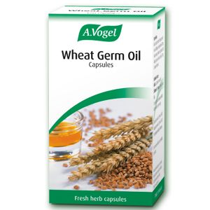 A Vogel Cold Pressed Wheatgerm Oil 120 Capsules