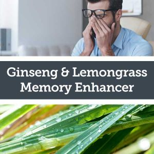 Baldwins Remedy Creator - Ginseng & Lemongrass Memory Enhancer