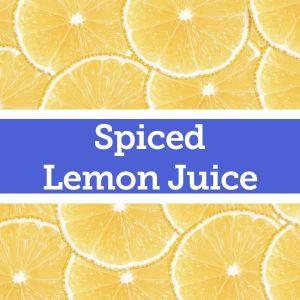 Baldwins Remedy Creator - Spiced Lemon Juice
