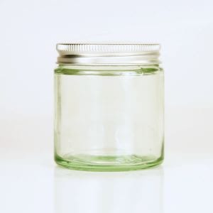 Wide Mouth Jar Clear With Silver Lids 60ml