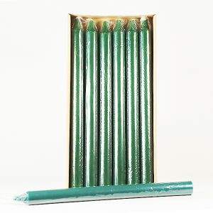"""15"""" Column Candle Forest Green"""