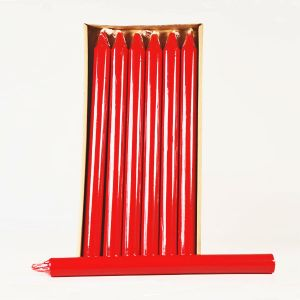 """15"""" Column Candle Red"""