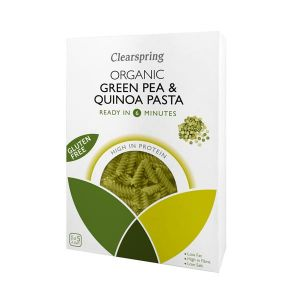 Clearspring Organic Gluten Free Green Pea and Quinoa Pasta 250g