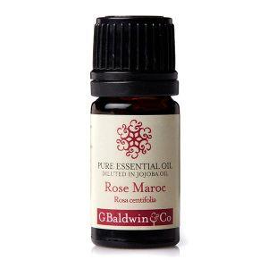 Baldwins Pure Essential Oil Of Rose (maroc) (rosa Centifolia) Diluted In Jojoba Oil