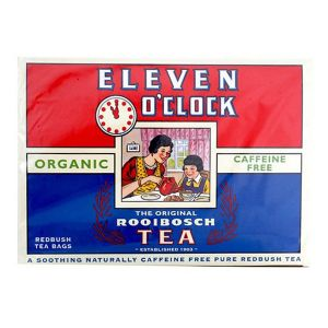 Eleven O'clock Organic Rooibos Tea 40 Tea Bags