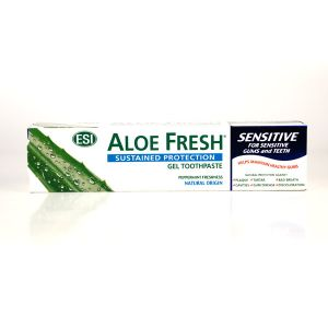 Esi Aloe Fresh Tea Tree And Peppermint Sensitive Toothpaste