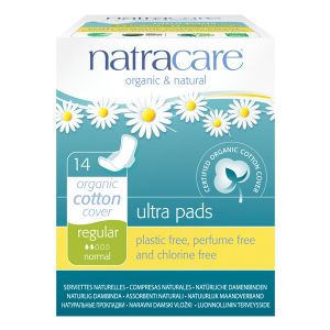 Natracare Natural Ultra Pads X 14 (regular With Wings)