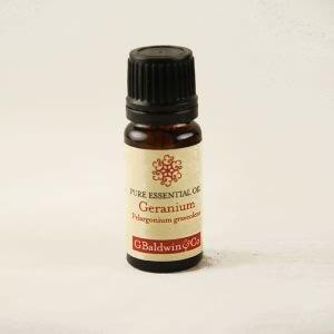 Baldwins Geranium (pelargonium Graveolens) Essential Oil