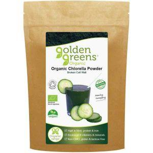 Golden Greens Organic Chlorella Powder 100g