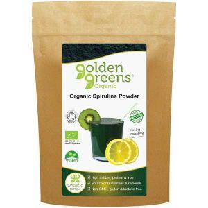 Golden Greens Organic Spirulina Powder 200g