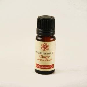 Baldwins Ginger (zingiber Officinale) Essential Oil