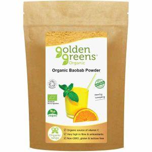 Golden Greens Organic Baobab Powder 100g