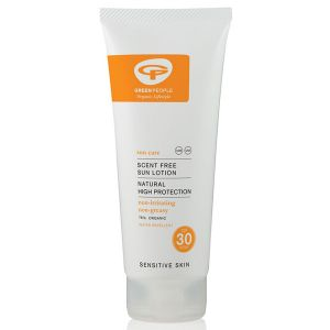 Green People Organic Scent-Free Sun Lotion SPF30 200ml