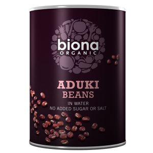Biona Organic Canned Aduki Beans 400g