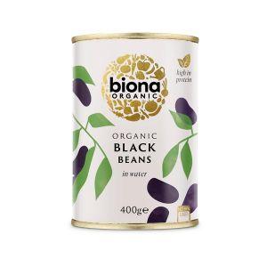Biona Organic Canned Black Beans 400g