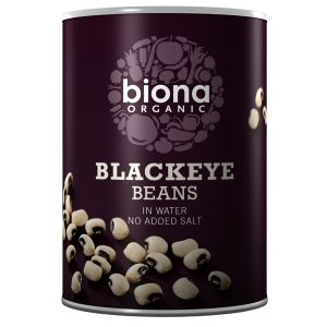 Biona Organic Canned Blackeye Beans 400g