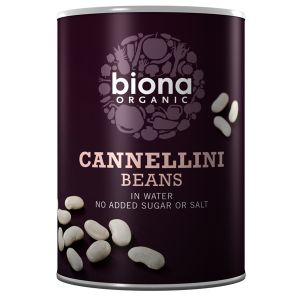 Biona Organic Canned Cannelini Beans 400g
