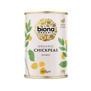 Biona Organic Canned Chick Peas 400g