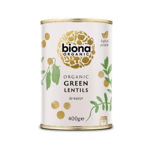 Biona Organic Canned Green Lentils 400g