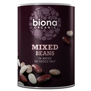 Biona Organic Canned Mixed Beans 400g